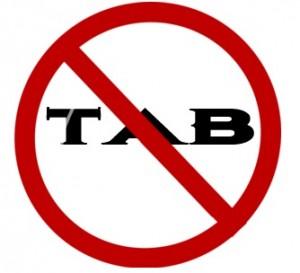 No Tab